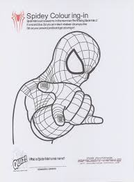 Inspiring Design Spider Coloring Pages 2 Man Printable