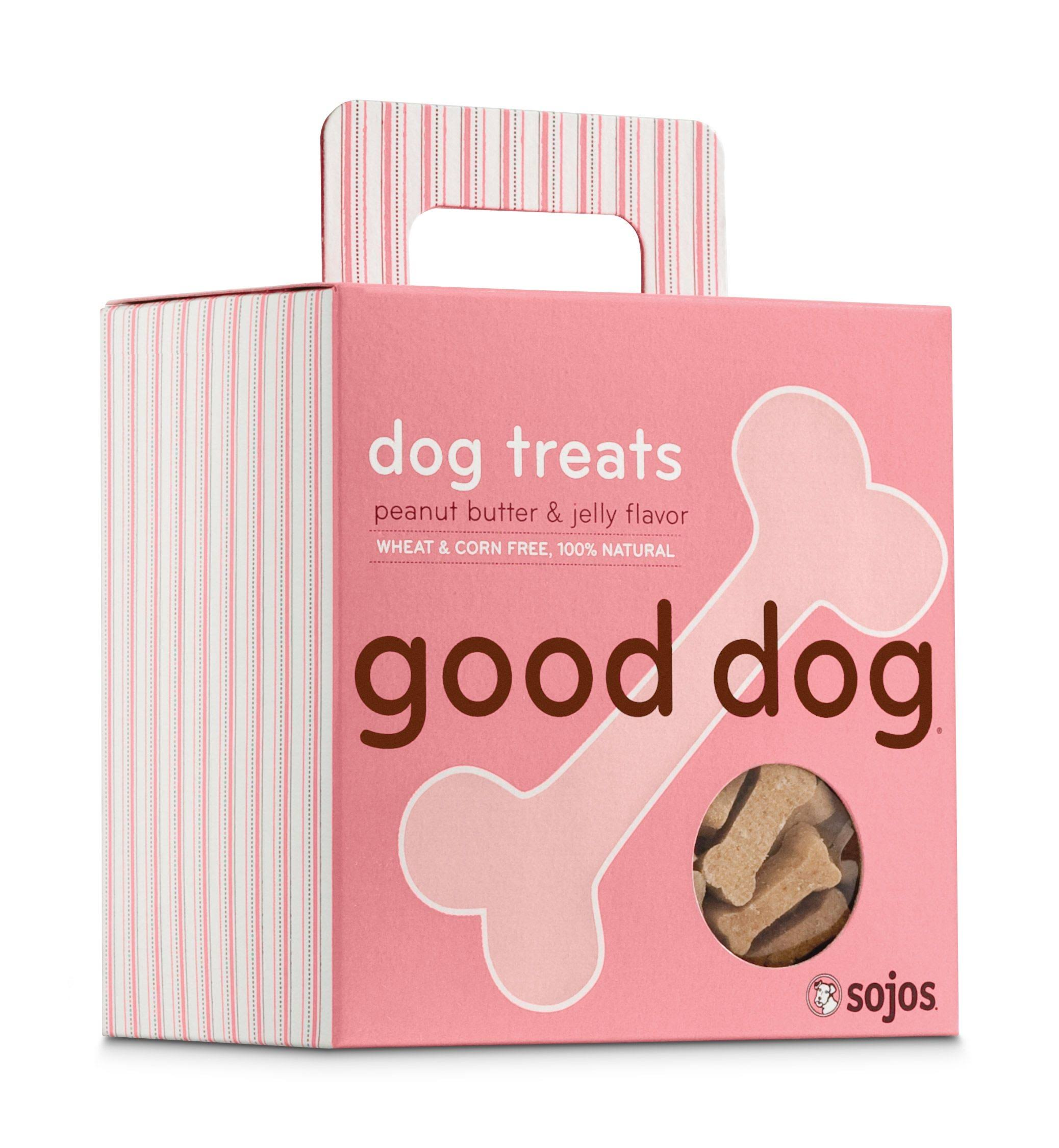 Sojo's Good Dog Treats - Peanut Butter & Jelly