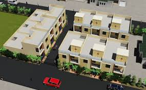 100 Row Houses Architecture Proposed Row Houses For Kirshna Residency At Scooter India