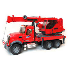 1/16th Mack Granite Crane Truck By Bruder