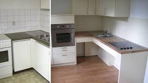 vorher nachher aufnahmen umbau einer küche küchenumbau