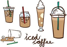 700x490 Iced Coffee Vector Pack