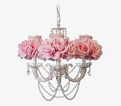 Flowers Chandelier Lamps Rose Pink PNG Image And Clipart