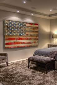 Exclusive Rustic American Flag Wall Art Plain Ideas