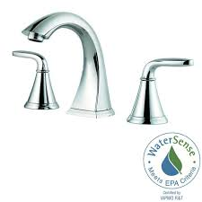 Home Depot Bathroom Faucets by Pfister Pasadena 8 In Widespread 2 Handle Bathroom Faucet In