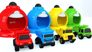 Learn Colors With Color Dump Truck Toys - Colors Collection For ...