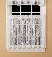 Country Curtains Rochester Ny by Colormate Chickadee Tier Curtain White
