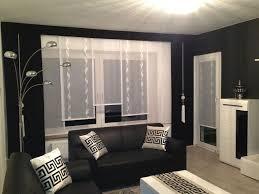 designer gardine esszimmer maßgefertigt modern schwarz
