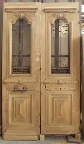 porte entree vantaux e2va01 porte d entree 2 vantaux en noyer directoire