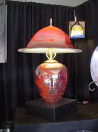 Wayfaircom Table Lamps by Commercial Table Lamps Table Lamp Lamps Kalish Glass Design Red