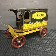 1900S RARE ANTIQUE TIN TOY WIND UP TRUCK U.S MAIL *PARCEL POST ... Antique Buddy L Junior Trucks For Sale Cheap Mail Truck Toy Find Deals On Line At Alibacom Car Wash Kids Youtube Structo Pressed Steel No 5853 Us Old Toys The Early Efsi Holland 1 87 Camp Lee Petersburg Truck Classic Wooden Community Vehicle Set Skeeters Toybox 1960s Little People Sending Letters Shop Die Cast Becky Me