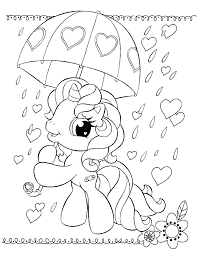 Coloring Pages My Little Pony Color Pretty