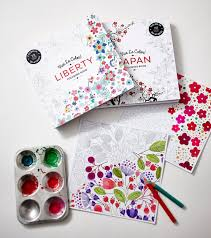 Japan Adult Coloring Book Color In De Stress 72 Tear Out Pages 9781617691812 Abrams Noterie Original French Edition By Marabout Books