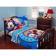 Elmo Toddler Bedding by Amazon Com Disney Baby Mickey Mouse Toddler Bed Set Baby