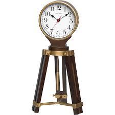 Bulova Table Clocks Wood by Bulova Rowayton Tripod Clock B1656 Clocks Best Buy Canada