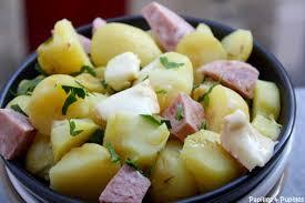 comment cuisiner les pommes de terre de noirmoutier salade paysanne aux pommes de terre de l île de ré