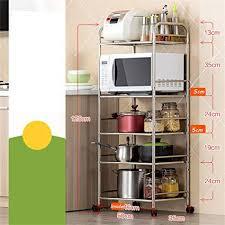 5 regal küchenregal heavy duty edelstahl küche zubehör