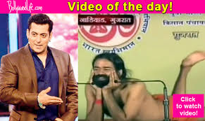 This Video Featuring Baba Ramdev As Salman Khan Is CRAZY To Another Level Watch Now