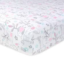 Woodland Creatures Nursery Bedding by Amazon Com Just Born Musical Mobile Grey Pink Elephants Baby