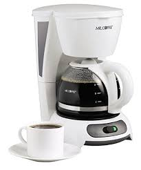 Mr Coffee 4 Cup Switch Maker White