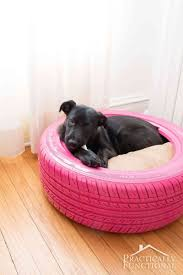 Chewproof Dog Bed by Diy Dog Bed From A Recycled Tire