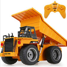 100 Big Toy Dump Truck 118 24G 6CH Remote Control Alloy RC