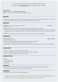 Resume Samples For Freshers Engineers Pdf Terrific B Tech Civil Engineering