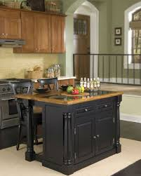 Small Kitchen Island Table Ideas by Kitchen Room White Stain Wall Varnished Wood Floor Tile