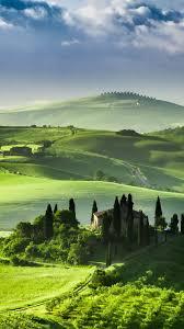 Tuscany Dreams Italy IPhone Wallpaper