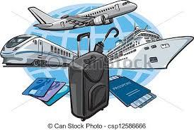 Transort For Travel Concept Clip Art Vector