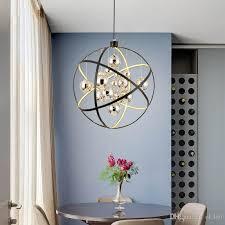 großhandel moderne schwarze metall led pendelleuchte chrom glas wohnzimmer led pendelleuchte esszimmer pendelleuchte led hängeleuchten ok360