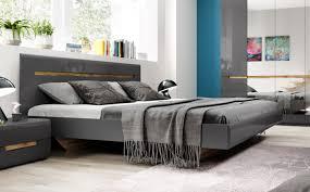 bett doppelbett nachtkonsole 70253433 grau front mdf hochglanz fichte liegefläche wählbar