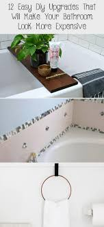 12 easy diy upgrades that will make your bathroom look more