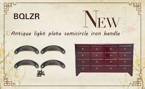 bqlzr vintage decorative door drawer pull handle semicircle knob