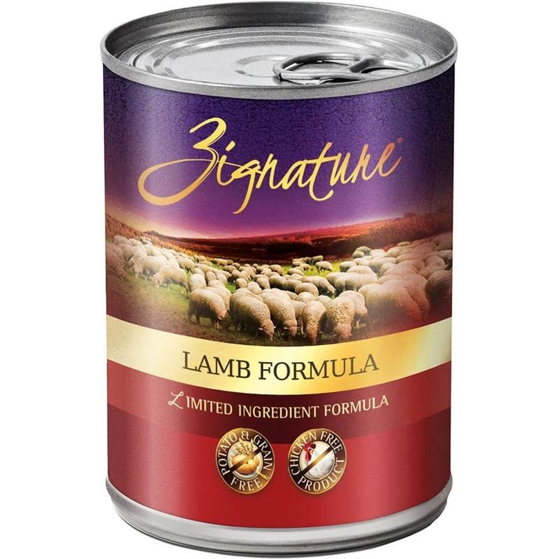 Zignature Grain Free Lamb Canned Dog Food - 13oz