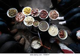 baise cuisine leye county baise city guangxi stock photos leye county baise city
