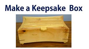 How To Make A Wooden Jewelry Box Keepsake