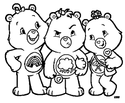 Care Bears Adventures In A Lot Coloring Pages