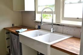 Ikea Domsjo Sink Single by Best Blanco Farmhouse Sink