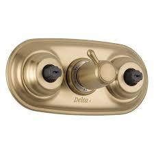 Delta Champagne Bronze Bathroom Faucet by Bathtubs Chic Bronze Bathtub Faucet 45 Margaux Handle Deck Mount