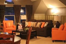 Teal And Orange Living Room Decor by Orange Brown Living Room Conceptstructuresllc Com