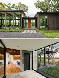 100 Modernhouse This Home Has A Mirrored Shed That Almost Blends Into Its