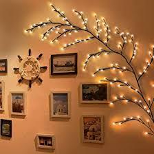 led beleuchtete willow branches lichter 144led leuchtzweige