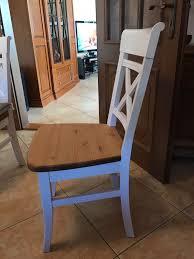 stuhl stühle landhaus skandinavisch weiß holz in 98574