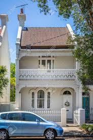 100 Sydney Terrace House An Image Of A Typical In Australia Stock Photo