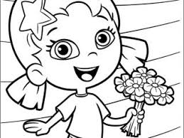 Bubble Guppies Printable Coloring Pages Picture