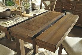 Dining Table With Leaf Counter Height Room Extension Hardware