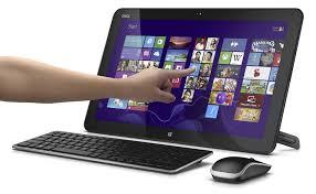 ordinateur de bureau tactile tout en un dell xps one 18 18 7469 all in one convertible en tablette 18 4