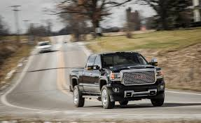 2017 GMC Sierra 2500HD / 3500HD | Fuel Economy Review | Car And Driver New 2016 Lifted Truck Black Widow By Sca Performance Gmc Sierra 550 Horsepower Fireball Silverado Package Dringer L5p Tuner For The 72018 Duramax Real Power Is Here Z71 Alpine Edition Luxury Rocky Ridge Trucks Used 2015 2500hd For Sale Beville On Gm To Offer Clng Engine Option On Chevy Hd Trucks And Vans 2018 Canyon Driving Impressions Review Car 12681432 57l 350 Long Block Engine Jegs Allterrain Concept Unveiled Columbia Sc Our Lifted K2 Are Tough As Nails Have 2011 8lug Diesel Magazine