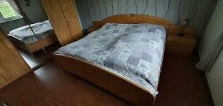 schlafzimmer komplett buche massiv teilmassiv sehr gut